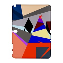 Geometrical abstract design Samsung Galaxy Note 10.1 (P600) Hardshell Case