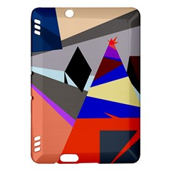 Geometrical abstract design Kindle Fire HDX Hardshell Case