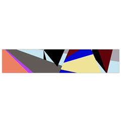 Geometrical abstract design Flano Scarf (Small)