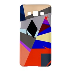 Geometrical abstract design Samsung Galaxy A5 Hardshell Case
