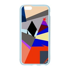 Geometrical abstract design Apple Seamless iPhone 6/6S Case (Color)