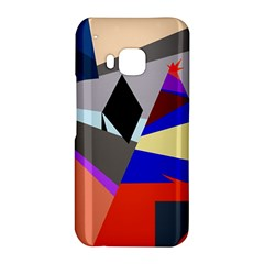 Geometrical abstract design HTC One M9 Hardshell Case