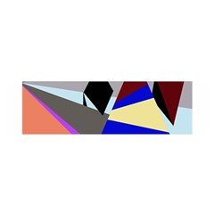 Geometrical abstract design Satin Scarf (Oblong)