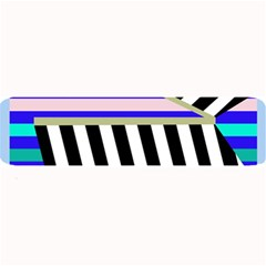 Blue lines decor Large Bar Mats