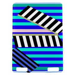 Blue lines decor Kindle Touch 3G