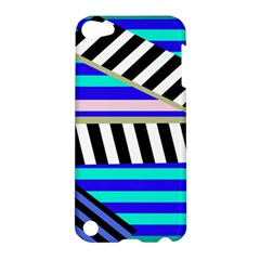 Blue lines decor Apple iPod Touch 5 Hardshell Case