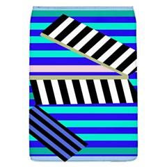 Blue lines decor Flap Covers (L)