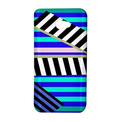 Blue lines decor HTC Butterfly S/HTC 9060 Hardshell Case