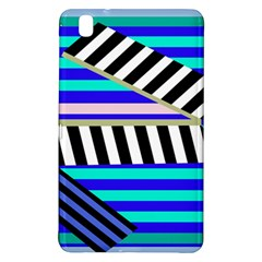 Blue lines decor Samsung Galaxy Tab Pro 8.4 Hardshell Case