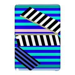 Blue lines decor Samsung Galaxy Tab Pro 12.2 Hardshell Case