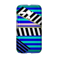 Blue lines decor Motorola Moto G
