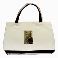 Cornish Rex, Blue Basic Tote Bag
