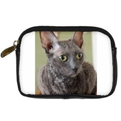 Cornish Rex, Blue Digital Camera Cases