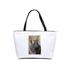 Cornish Rex, Blue Shoulder Handbags