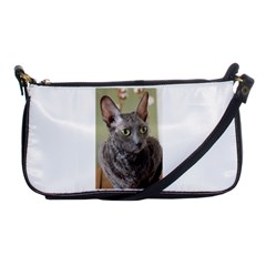 Cornish Rex, Blue Shoulder Clutch Bags