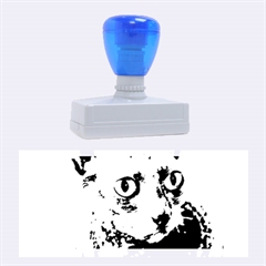 Cornish Rex, Blue Rubber Stamps (Large)