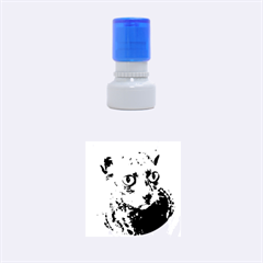 Cornish Rex, Blue Rubber Round Stamps (Small)