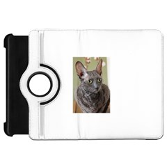 Cornish Rex, Blue Kindle Fire HD Flip 360 Case