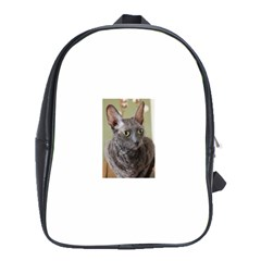 Cornish Rex, Blue School Bags (XL)