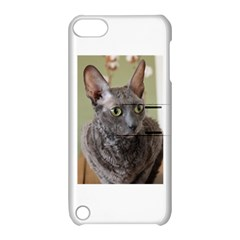 Cornish Rex, Blue Apple iPod Touch 5 Hardshell Case with Stand