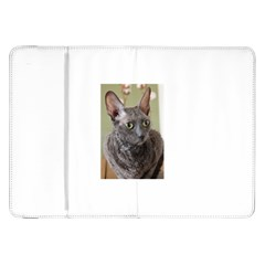 Cornish Rex, Blue Samsung Galaxy Tab 8.9  P7300 Flip Case