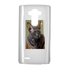 Cornish Rex, Blue LG G4 Hardshell Case