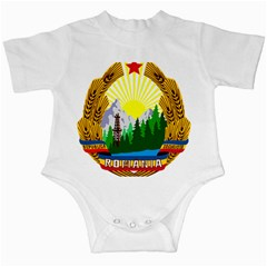National Emblem Of Romania, 1965 1989  Infant Creepers