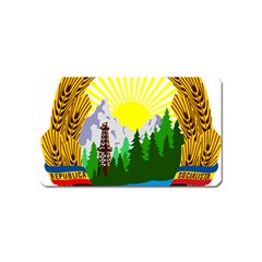 National Emblem Of Romania, 1965 1989  Magnet (name Card)
