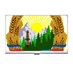 National Emblem Of Romania, 1965 1989  Business Card Holders