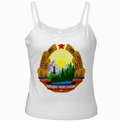 National Emblem Of Romania, 1965 1989  Ladies Camisoles