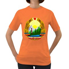 National Emblem Of Romania, 1965 1989  Women s Dark T Shirt