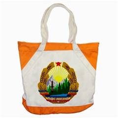 National Emblem Of Romania, 1965 1989  Accent Tote Bag