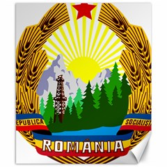 National Emblem Of Romania, 1965 1989  Canvas 8  X 10