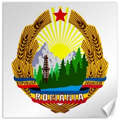 National Emblem Of Romania, 1965 1989  Canvas 16  X 16