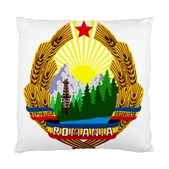 National Emblem Of Romania, 1965 1989  Standard Cushion Case (two Sides)