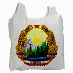 National Emblem Of Romania, 1965 1989  Recycle Bag (one Side)