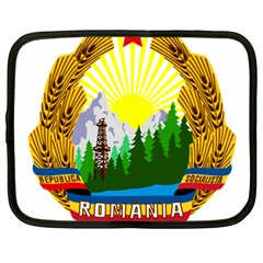 National Emblem Of Romania, 1965 1989  Netbook Case (xxl)