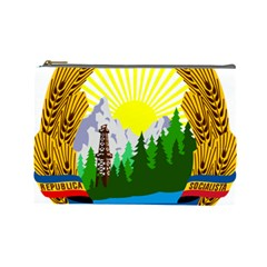National Emblem Of Romania, 1965 1989  Cosmetic Bag (large)