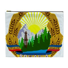 National Emblem Of Romania, 1965 1989  Cosmetic Bag (xl)