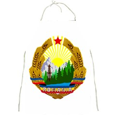 National Emblem Of Romania, 1965 1989  Full Print Aprons