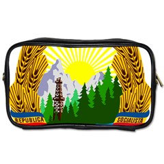 National Emblem Of Romania, 1965 1989  Toiletries Bags 2 Side