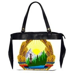 National Emblem Of Romania, 1965 1989  Office Handbags (2 Sides)