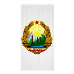National Emblem Of Romania, 1965 1989  Shower Curtain 36  X 72  (stall)
