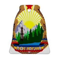 National Emblem Of Romania, 1965 1989  Bell Ornament (2 Sides)