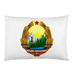 National Emblem Of Romania, 1965 1989  Pillow Case (two Sides)