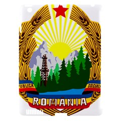 National Emblem Of Romania, 1965 1989  Apple Ipad 3/4 Hardshell Case (compatible With Smart Cover)