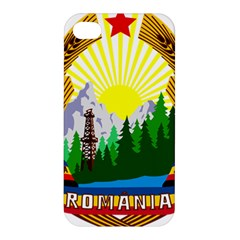 National Emblem Of Romania, 1965 1989  Apple Iphone 4/4s Premium Hardshell Case