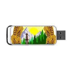 National Emblem Of Romania, 1965 1989  Portable Usb Flash (two Sides)