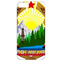 National Emblem Of Romania, 1965 1989  Apple Iphone 5 Classic Hardshell Case