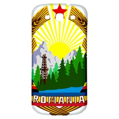 National Emblem Of Romania, 1965 1989  Samsung Galaxy S3 S Iii Classic Hardshell Back Case